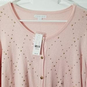 New York & Company Sweaters - New York & Company Pink Cardigan